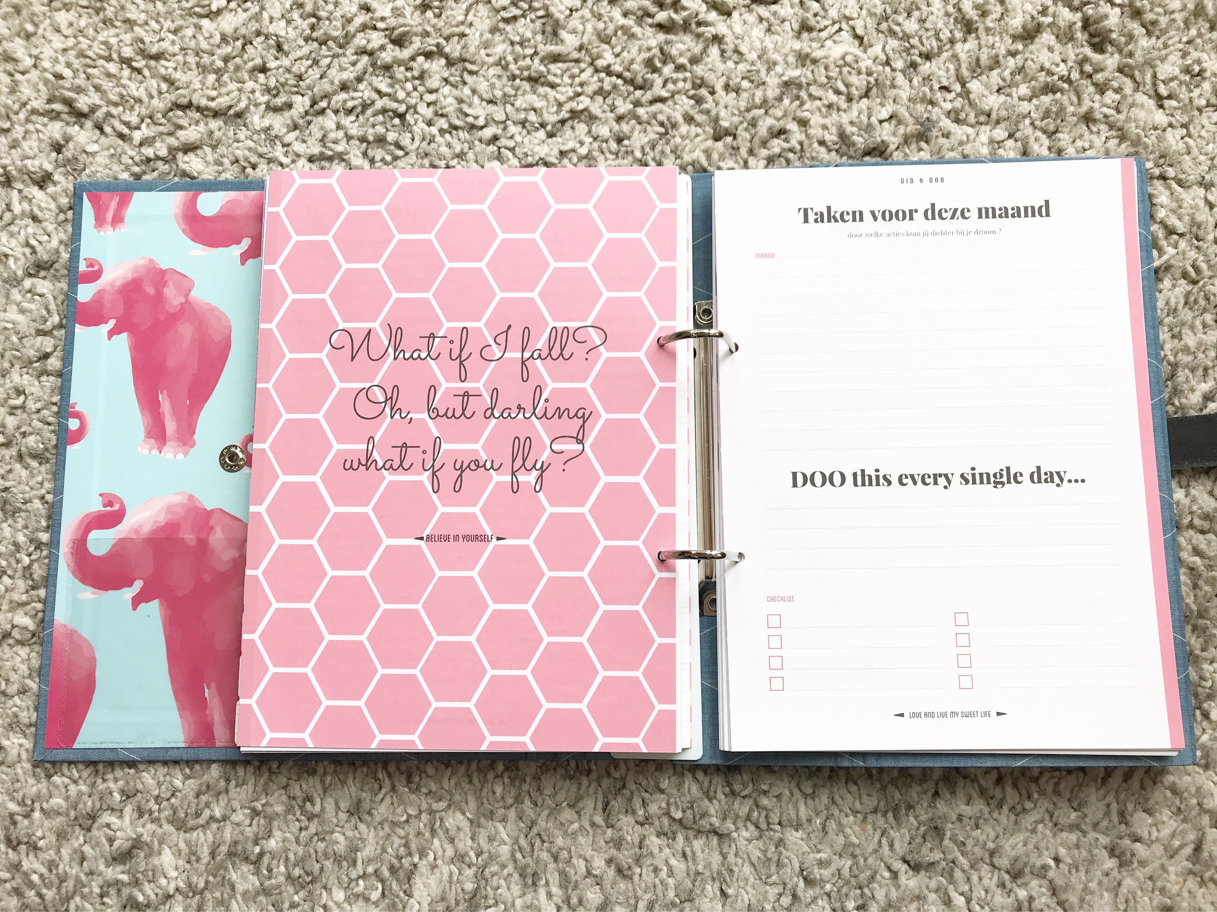 Milly Pie plannen planner planning orde chaos druk mama moeder mam mamablog mamablogger blog blogger lifestyle doelen laviedemama.nl